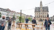 """Twee maand lang zomerterras op de Markt: """"We brengen weer leven in de brouwerij"""""""