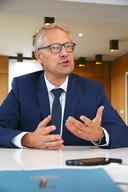 Piet Desmet, rector van de universiteit Kulak