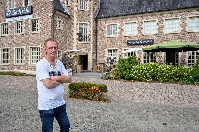 Geert Boots is de gastheer van B&B  @De Heide.