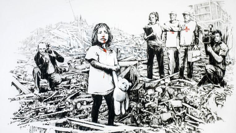 Media at War Beeld Banksy