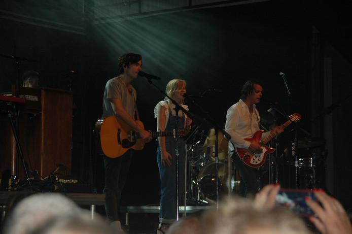 The Common Linnets op het nazomerfestival in middelburg