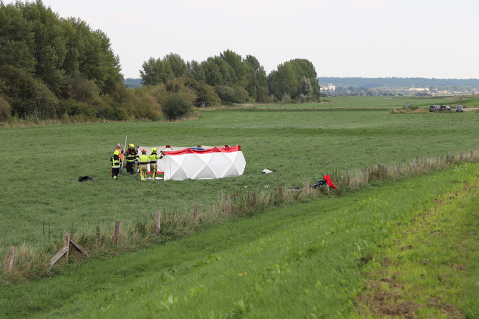 Hulpverlening na het ernstige ongeval bij Ingen.