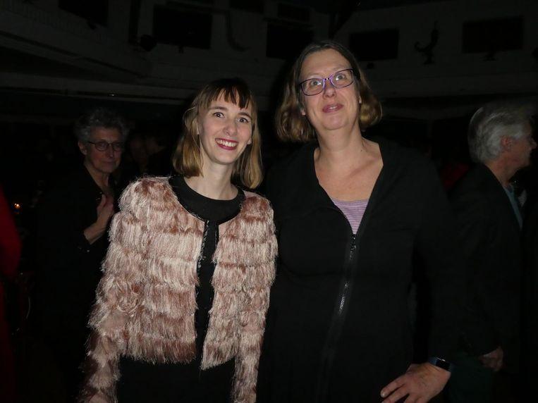 Duovoorzitters Savannah Koolen en Margreet de Boer. Koolen: