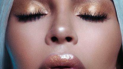 Kim Kardashian toont hoe flesje voor nieuw parfum er zal uitzien