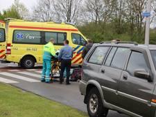 Fietsster gewond na botsing met auto in Kampen