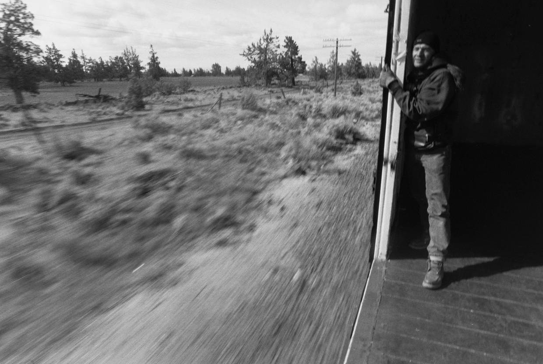 Jan in boxcar
