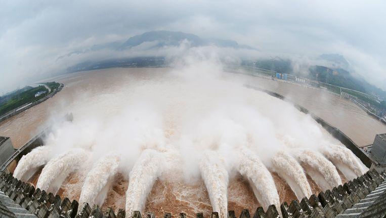 De Drieklovendam Beeld AFP
