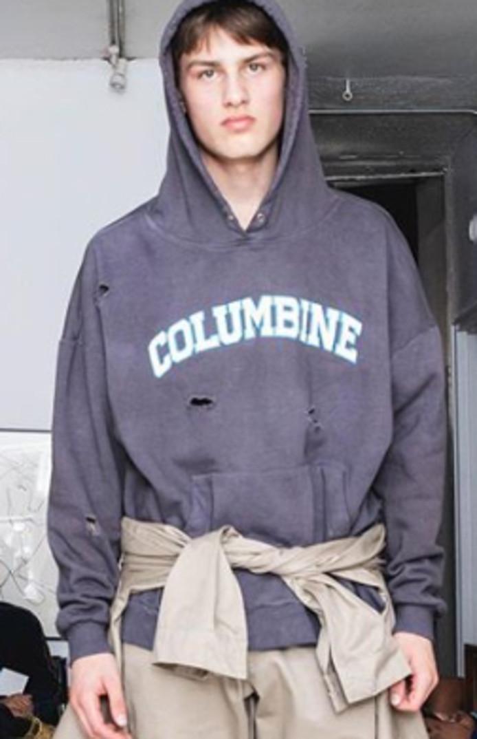 Een van de hoodies.