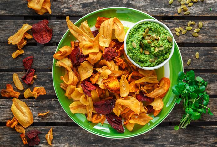 Ook gefrituurde groenten bevatten de kankerverwekkende stof soms in grote hoeveelheden.