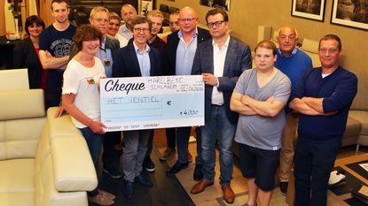 Harelbeke Schlagert schenkt 4.000 euro aan Ventiel