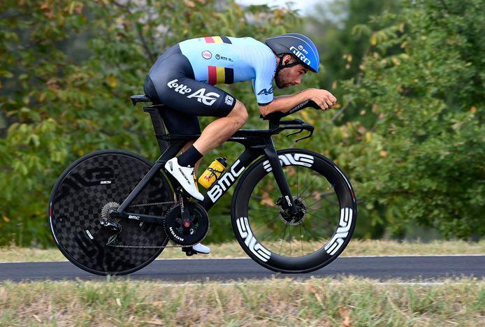 Médaillé de bronze sur les championnats du monde en 2018, Victor Campenaerts espère faire au moins aussi bien à Imola.