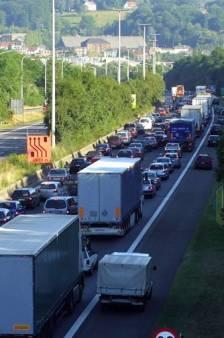 Après plusieurs accidents, gros embarras de circulation sur l'E411 à hauteur de Bierges vers Bruxelles
