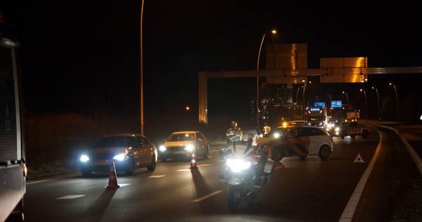 Meerdere ongelukken op de Midden-Brabantweg bij Waalwijk en Kaatsheuvel.