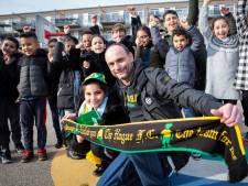 Jonge ADO-fan Ranim (9) heeft nu alles in groen-geel dankzij gulle supporter