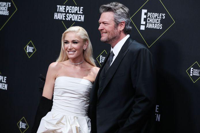 Gwen Stefani en Blake Shelton
