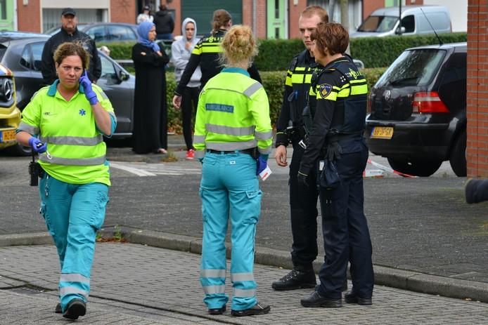 Steekincident Merwedestraat in Breda.
