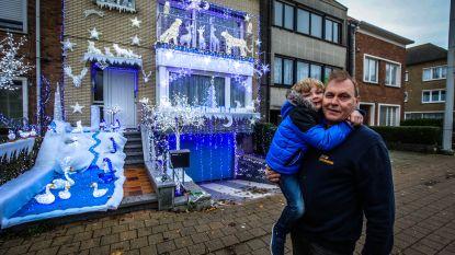 """Marnick Croes is nu al vier uur daags bezig met speuren naar kerstversiering voor volgend jaar: """"Mijn huis is wellicht een fel lichtpuntje voor wie in het ruimtestation verblijft"""""""