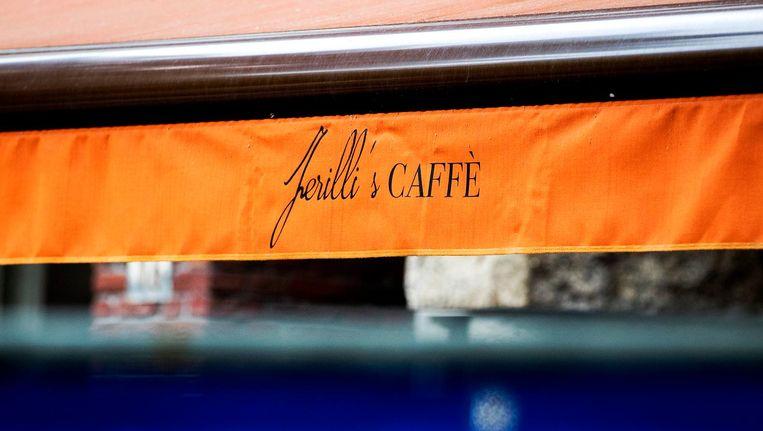Ferilli's Caffè staat niet bekend als ontmoetingsplek van criminelen. Beeld anp
