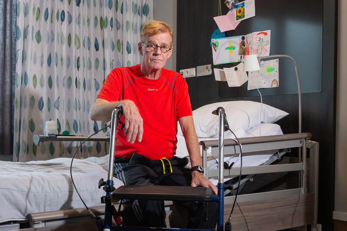 Henk Lenderink won de strijd met de slopende veteranenziekte ternauwernood.
