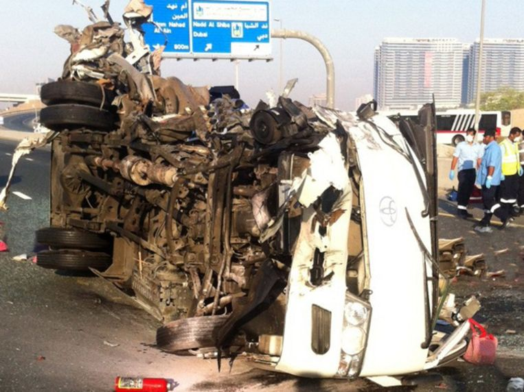 15 doden na crash met bus in Koeweit