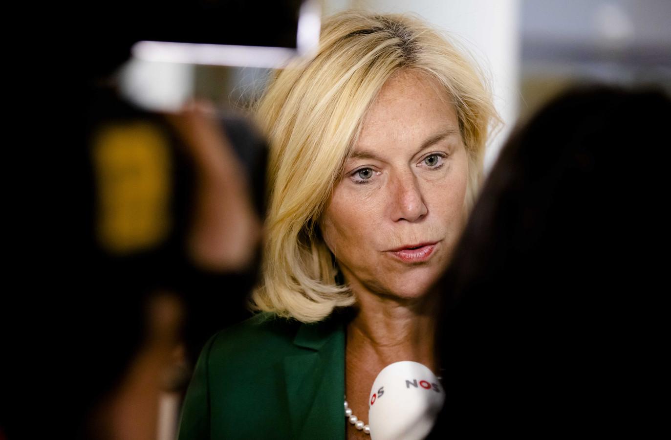 Minister Sigrid Kaag voor Buitenlandse Handel en Ontwikkelingssamenwerking