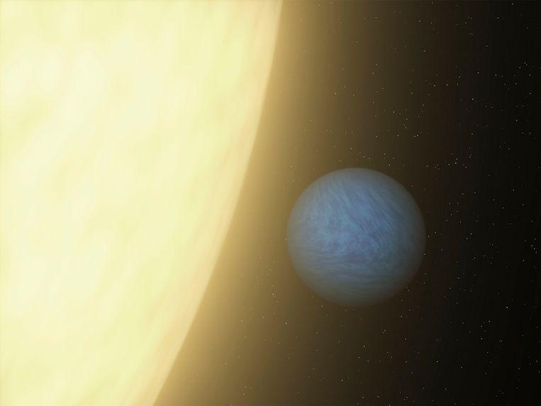 NASA illustratie van de 'super aarde' 55 Cancri e uit 2012 Beeld reuters