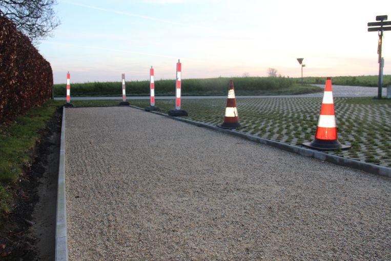 De petanquebaan aan Schoolke in Moregem is één van de projecten van BuurtBouwers.