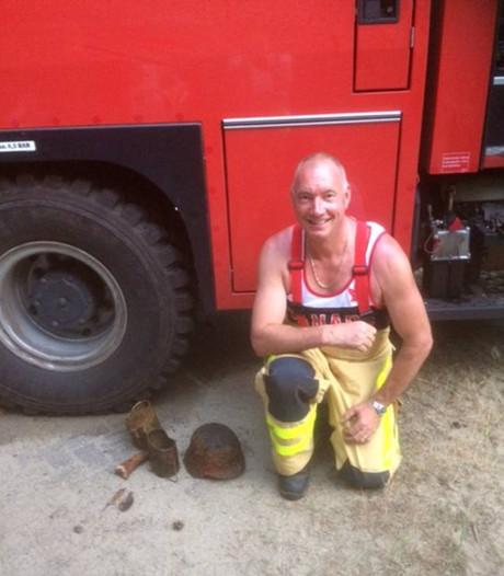 Brandweerman (55) doet tijdens routine-controle historische vondst in bunker