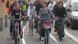 Aantal Belgen dat naar het werk fietst in 5 jaar verdubbeld