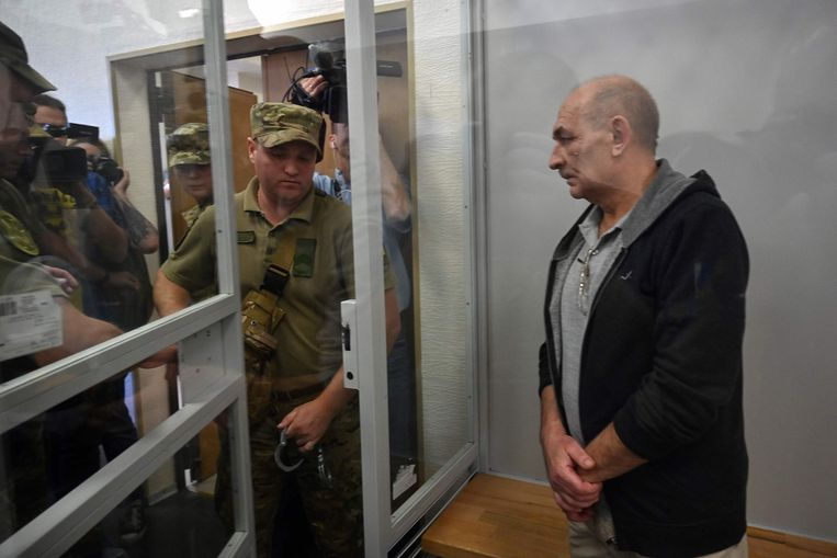 Vladimir Tsemakh. Beeld SERGEI SUPINSKY/AFP