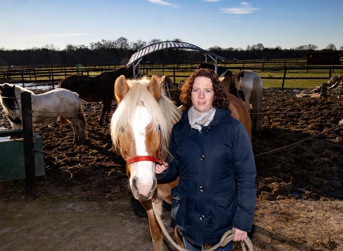 Marieke Hendrikx van de stalvrienden in Veldhoven.