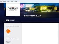Opvallend! Eurovisionsite geeft Rotterdam aan als locatie Songfestival
