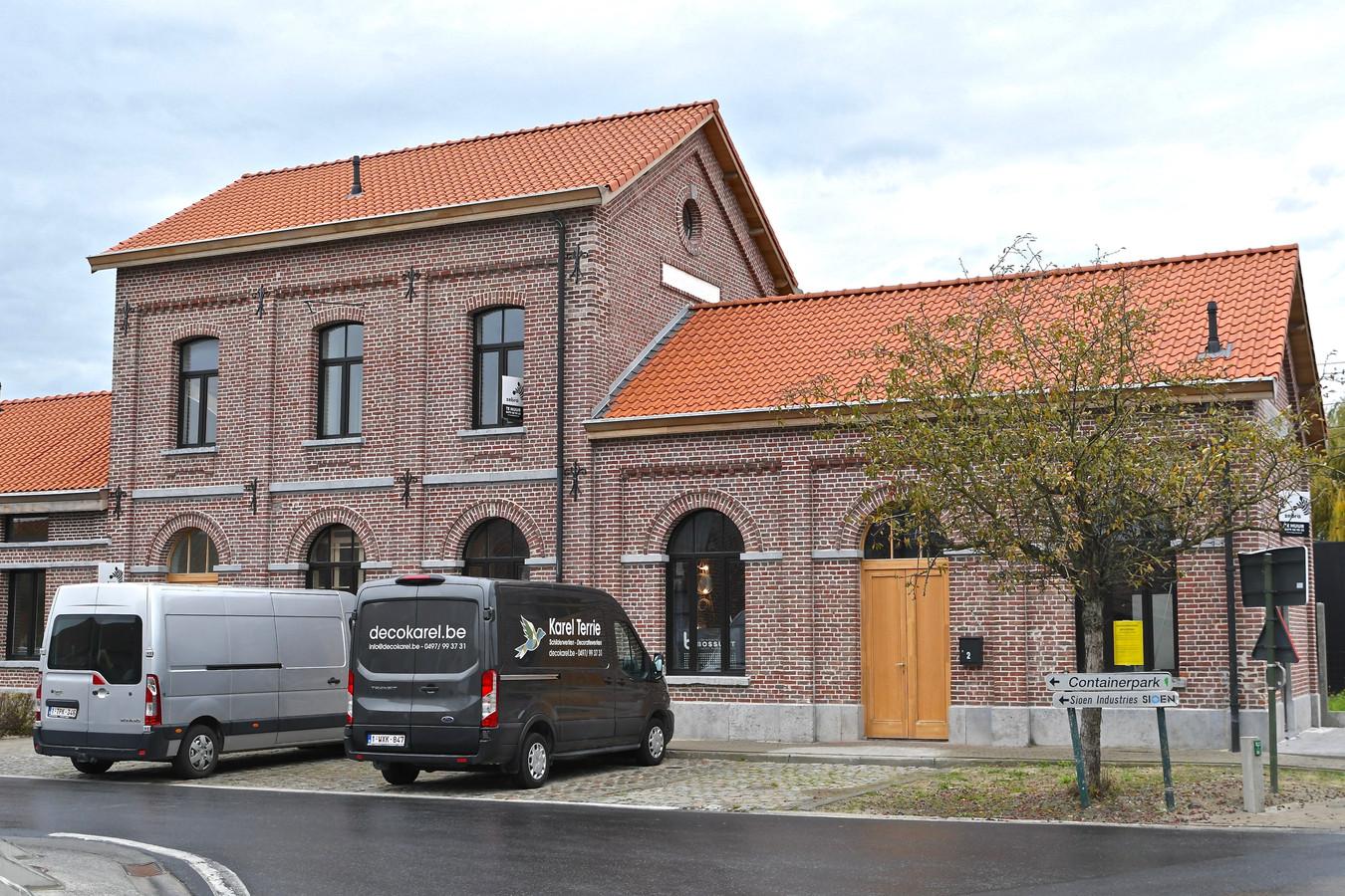 Het vroegere station van Ardooie