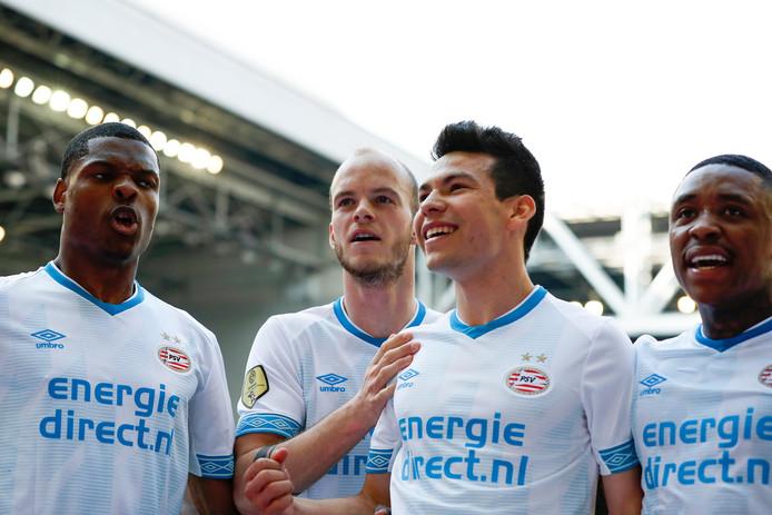 PSV verspeelde zondag punten in Vitesse, ondanks drie goals.