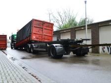 Gewonde bij ongeval met container in Helmond