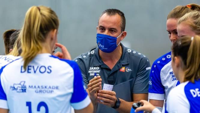 """Stijn Morand (VDK Gent): """"Gelukkig is de competitie in de Liga A bij de vrouwen slechts met één week uitgesteld"""""""
