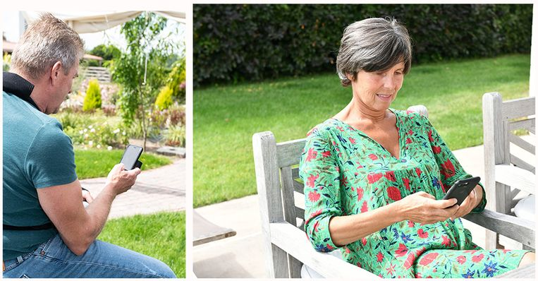 """Paul en Christine: """"Fijn is ook dat ik nu iemand heb naar wie ik op het einde van de dag in mijn zetel berichtjes kan sturen over alledaagse dingen"""""""