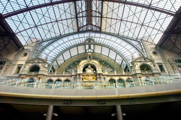 Station Antwerpen, voorlopig nog niet direct bereikbaar vanuit Breda. Archieffoto BN DeStem
