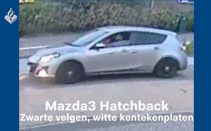 De politie was op zoek naar deze auto.