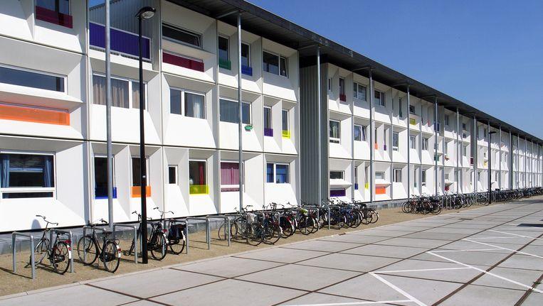 Studentenwoningen in de Houthavens Beeld anp