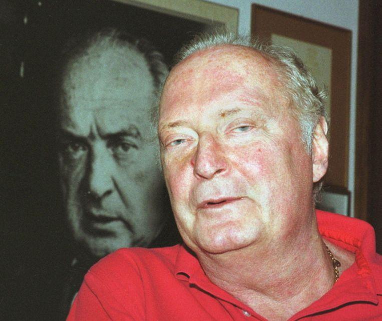 De verschijning van The original of Laura is een emotioneel moment voor Vladimir Nabokovs zoon Dmitri. Foto GPD/Donald Stampfli Beeld