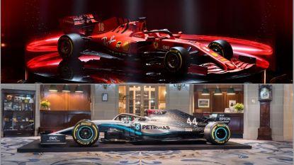 IN BEELD. De F1-bolides in een nieuw kleedje