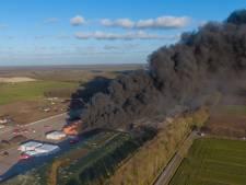 GroenLinks wil dat Overijssel maatregelen neemt na vlammenzee bij afvalverwerker in Drentse Wijster