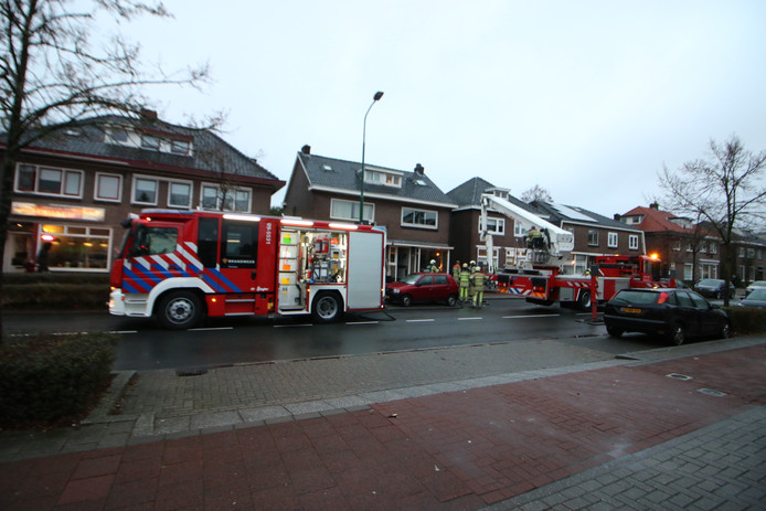 De brand was snel onder controle.