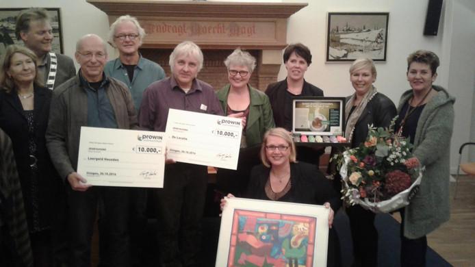 Stichting Leergeld en Stichting De Locatie ontvangen hun donaties.