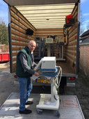 De apparatuur is afgelopen week door heel Nederland afgeleverd.