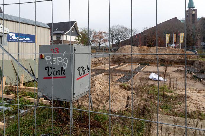 Afvalbedrijf Vink ligt vanwege vervuilde grond al een tijdje onder vuur. © Cees Wouda