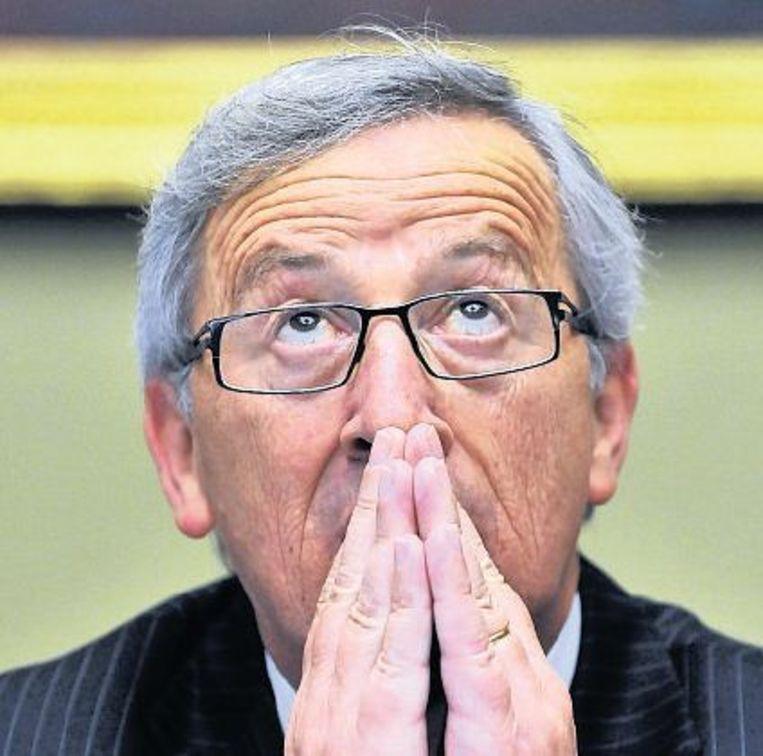 null Beeld Topkandidaat Juncker uit Luxemburg