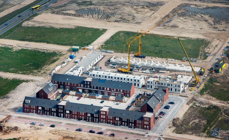 Nieuwbouwhuizen in Leidsche Rijn in Utrecht.  Beeld Raymond Rutting