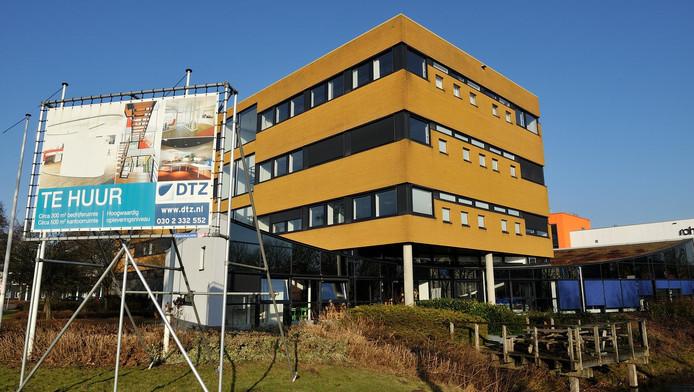 De Hoef: één van de bedrijventerrein in Amersfoort dat kampt met leegstand. Het gebied wordt gedeeltelijk omgetoverd tot 'woonwijkje', besloot de gemeenteraad dinsdag.